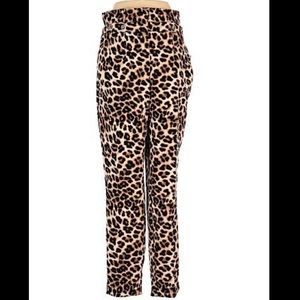 Leopard Dress Pants